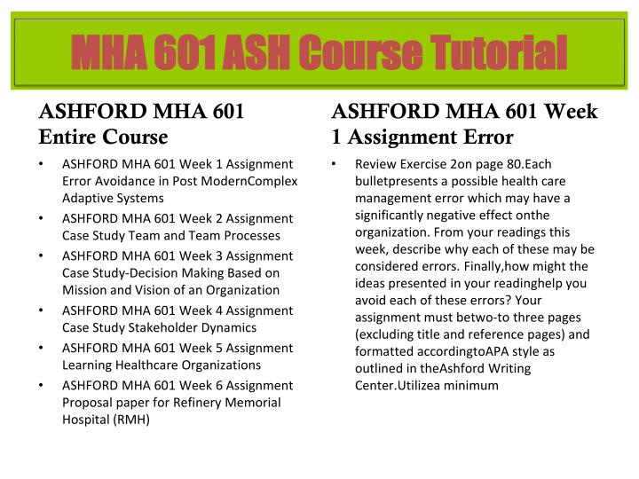 mgt 601 week 4 assignment rapier Ashford mha 601 week 1 dq 1 applied modern management theory 5-5 stars based on 953 484 reviews mgt 401 week 2 learning team assignment business model comparison ashford mha 601 week 5 dq 1 changes in healthcare.