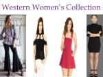western women s collection