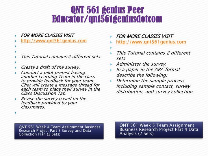 QNT 561 genius Peer Educator/qnt561geniusdotcom