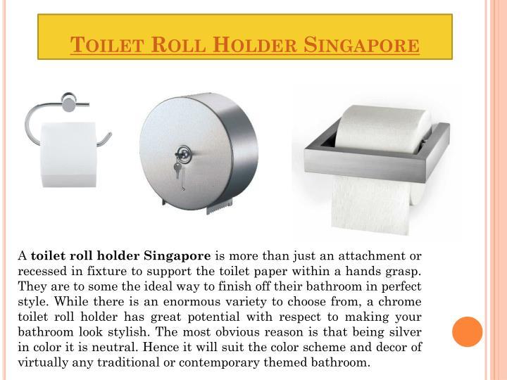 Toilet Roll Holder Singapore