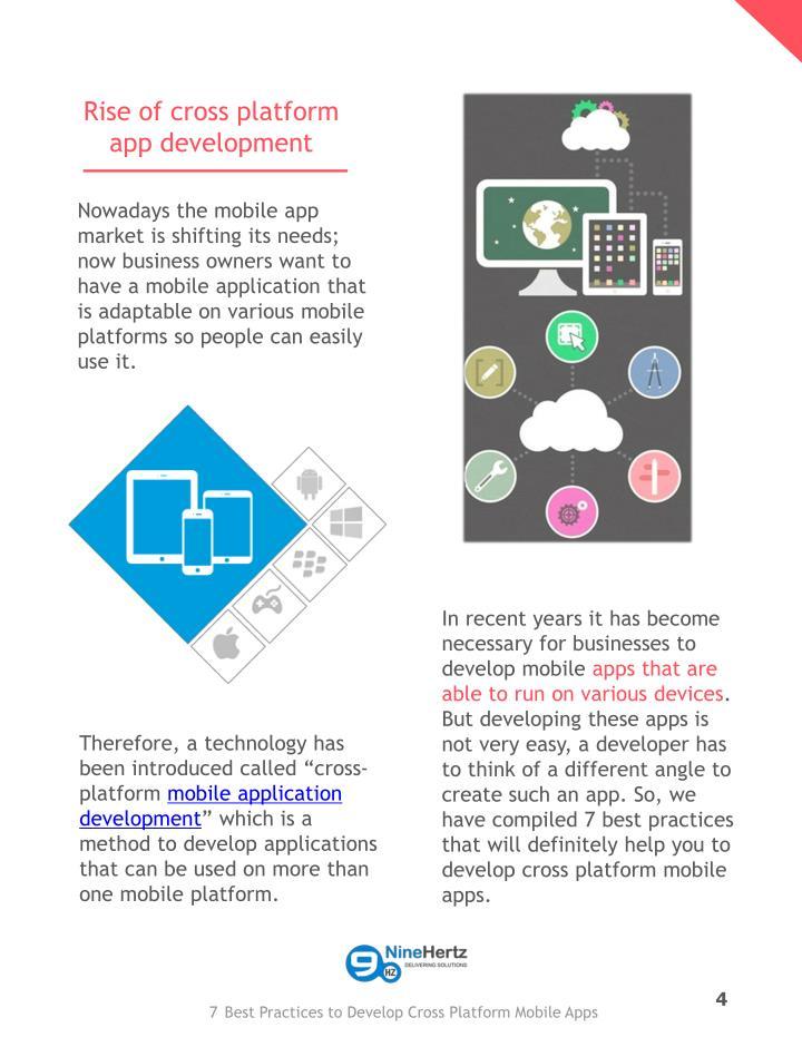 Rise of cross platform app development