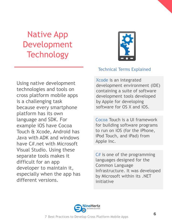 Native App Development Technology
