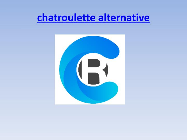 chatroulette alternative