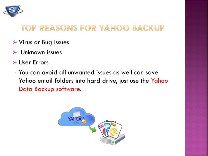 Top Reasons for Yahoo