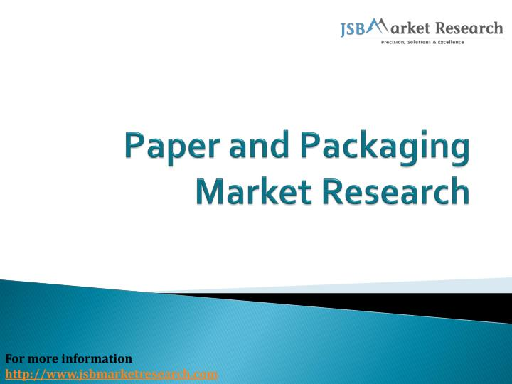 importance of market research paper Marketing research article: this makes packaging research even more important  marketing research white papers.