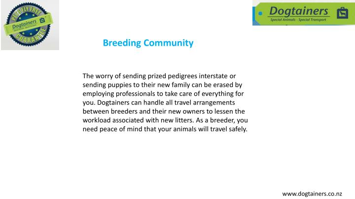 Breeding Community
