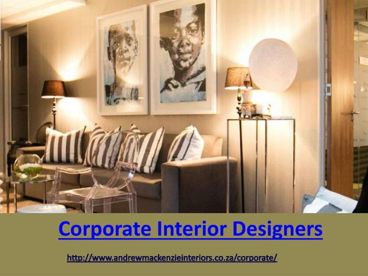 Corporate Interior Designers