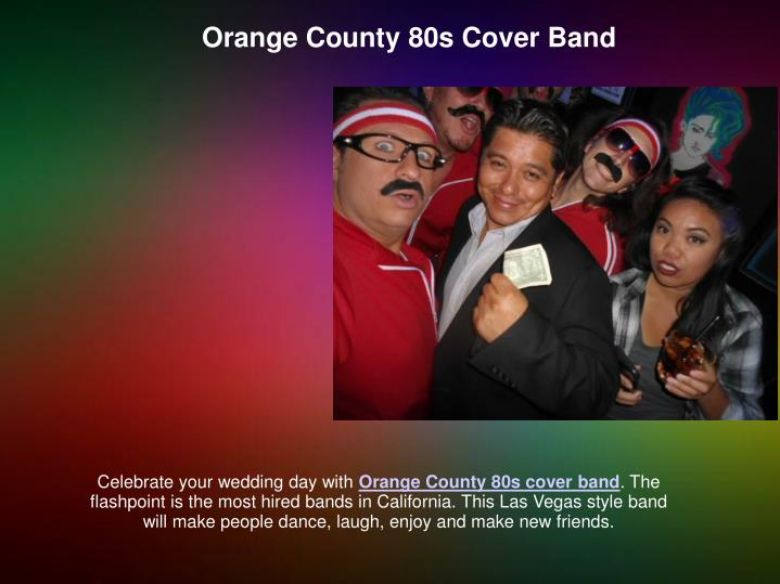 Orange County 80s Cover Band