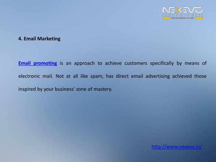 4. Email Marketing