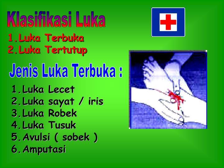 Klasifikasi Luka