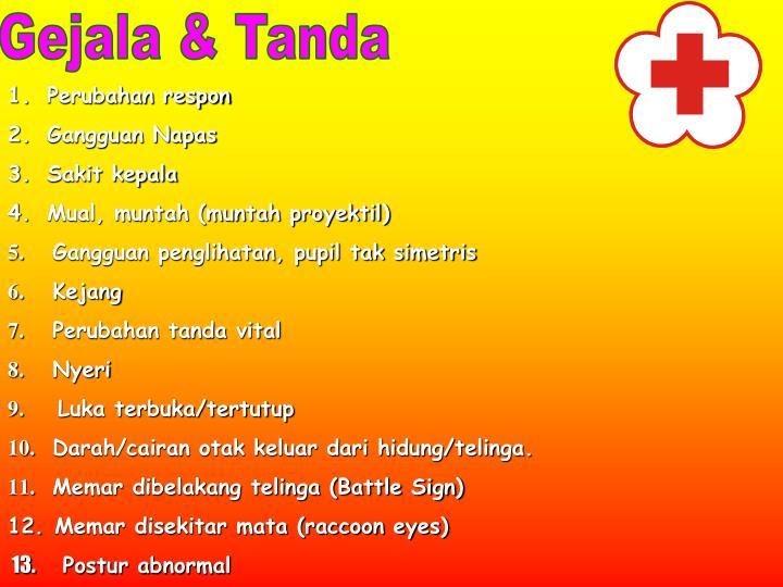 Gejala & Tanda
