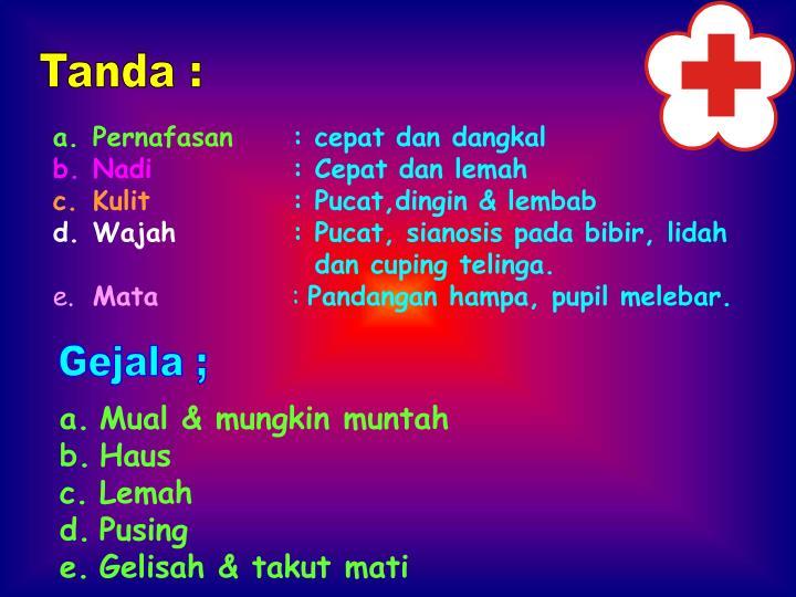 Tanda :
