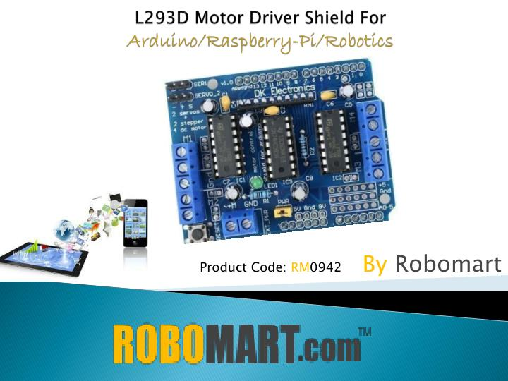 Ppt buy arduino shields by robomart powerpoint