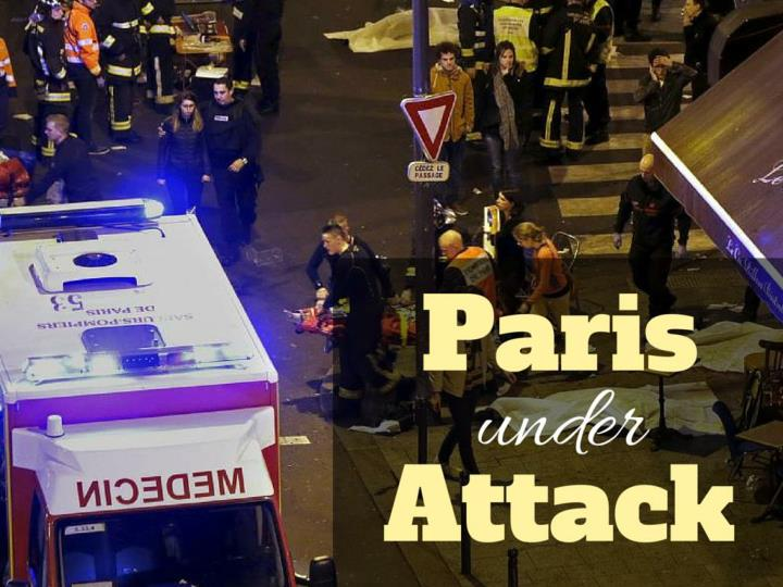 Paris under attack