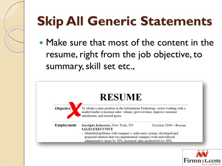 ppt awesome tips to improve and manage your resume