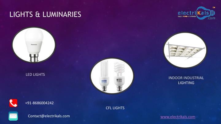 LIGHTS & LUMINARIES