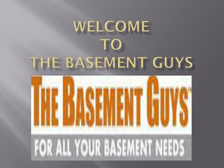 welcome to the basement guys