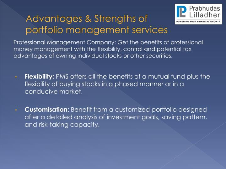Advantages & Strengths of