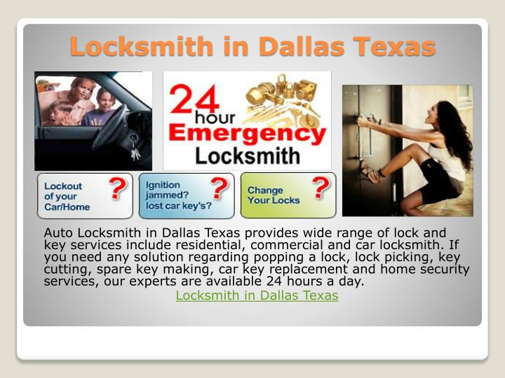 Locksmith in dallas texas