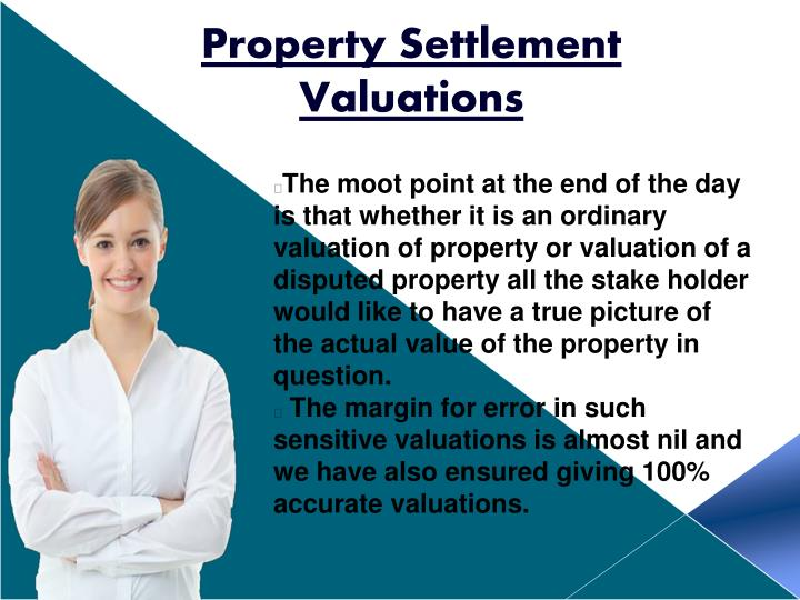 Property Settlement Valuations