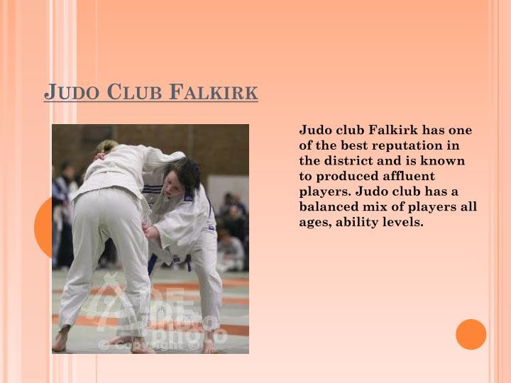 Judo Club Falkirk