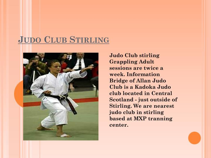 Judo Club Stirling