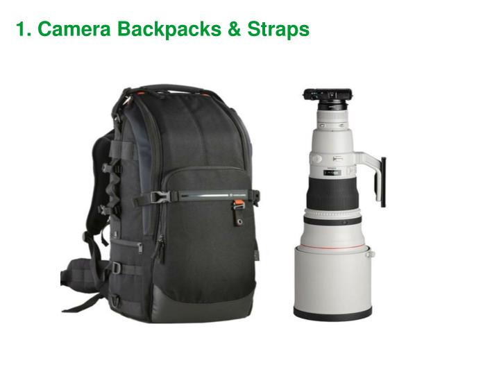 1. Camera Backpacks & Straps