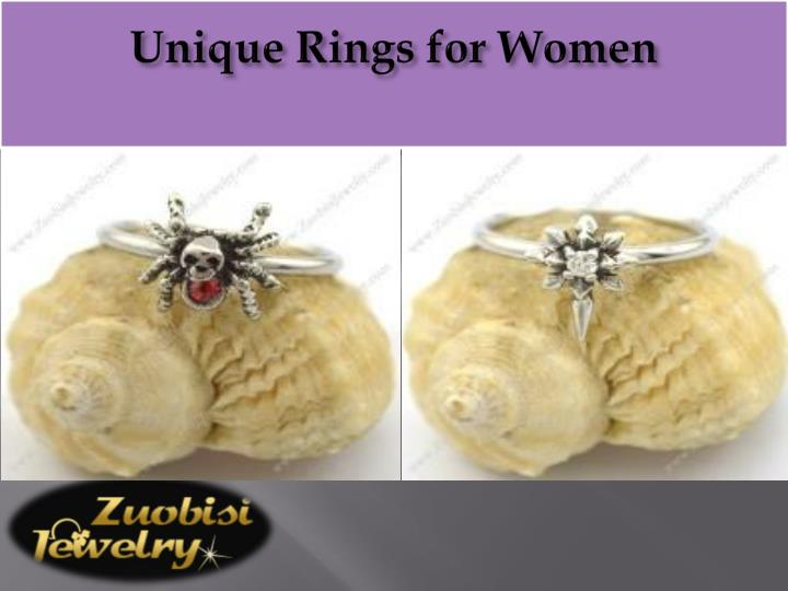 Unique Rings for Women