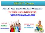 easy a your grades no more headaches for more course tutorials visit www tutorialrank com