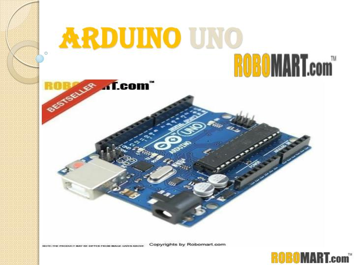 Ppt buy arduino cochin by robomart powerpoint