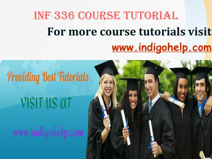 For more course tutorials visit www indigohelp com