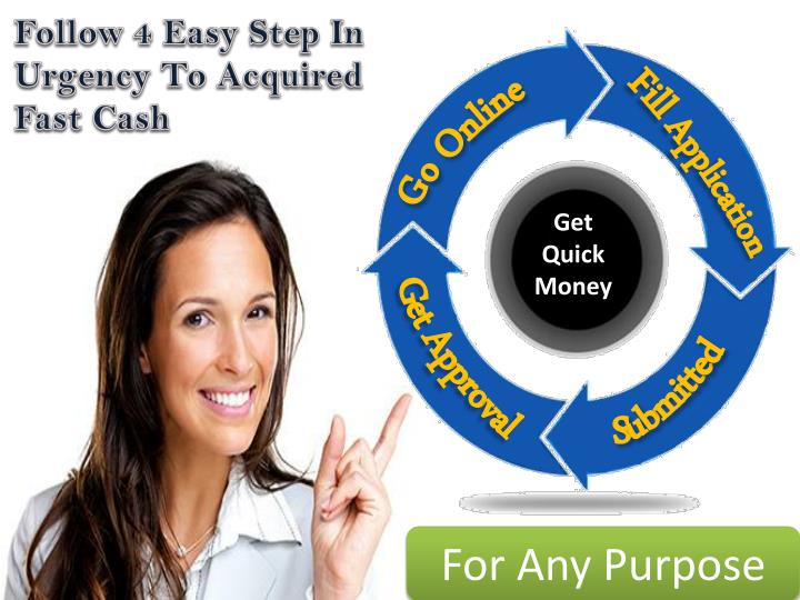 Follow 4 Easy Step In Urgency To Acquired Fast Cash
