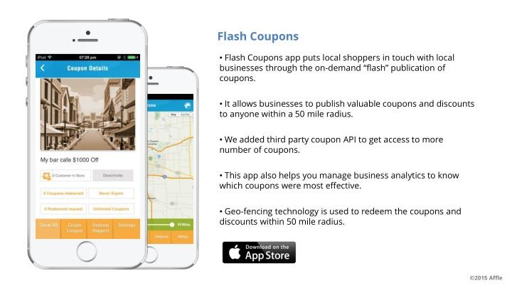 Flash Coupons