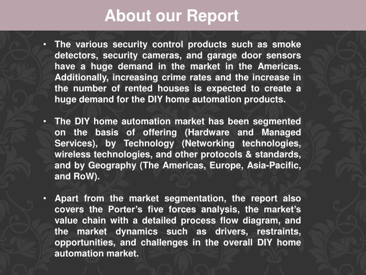 About our Report