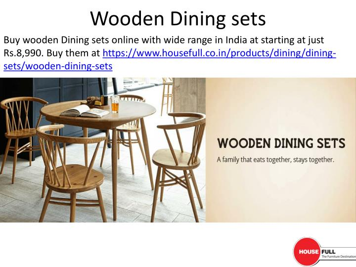 Wooden Dining sets