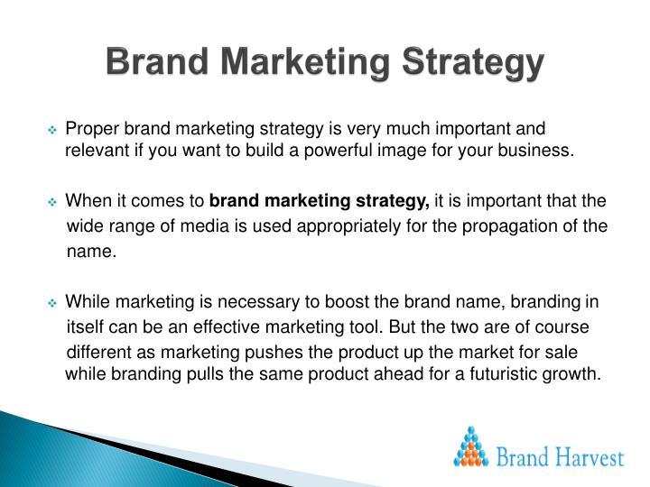 Brand Marketing Strategy