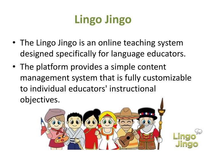 Lingo Jingo