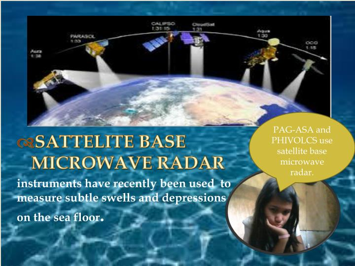 SATTELITE BASE MICROWAVE RADAR