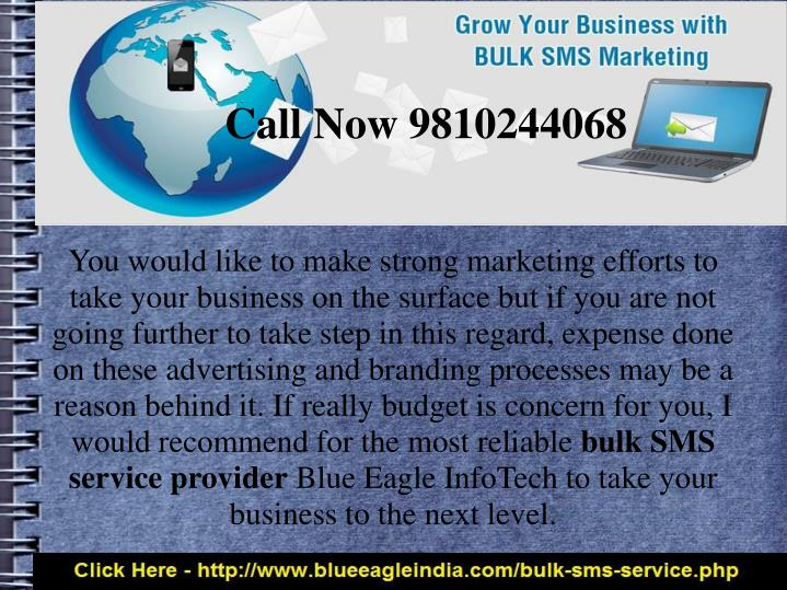 You would like to make strong marketing efforts to take your business on the surface but if you are not going further to take step in this regard, expense done on these advertising and branding processes may be a reason behind it. If really budget is concern for you, I would recommend for the most reliable