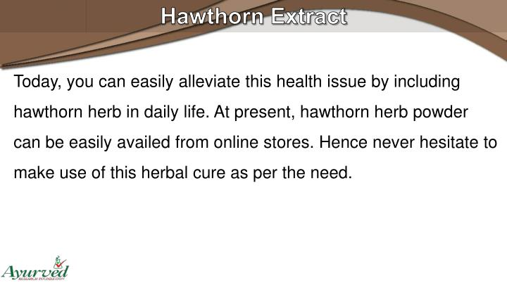 Hawthorn Extract