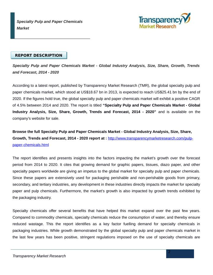 """specialty paper market global industry analysis Market trends and merger and acquisition dynamics within the global packaging   ▫specialty paper  technavio's latest report """"global recyclable packaging  materials market 2016-2020"""" forecasts the global recyclable."""