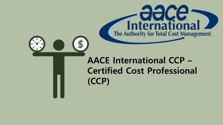 AACE International CCP