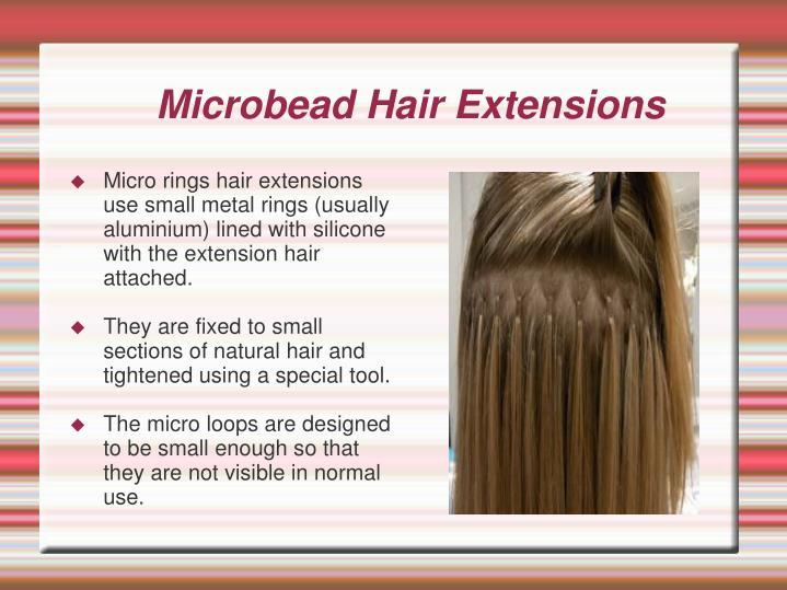 Microbead Hair Extensions