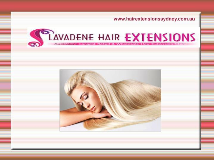 Www hairextensionssydney com au