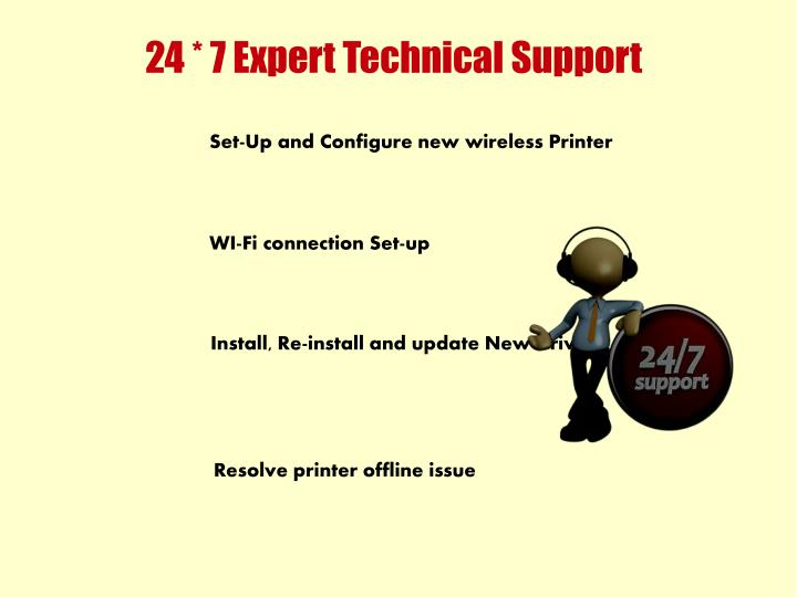 24 * 7 Expert Technical Support