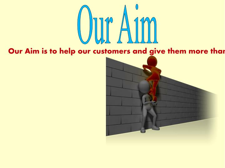 Our Aim