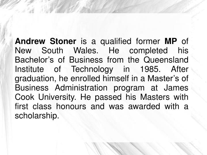 Andrew Stoner