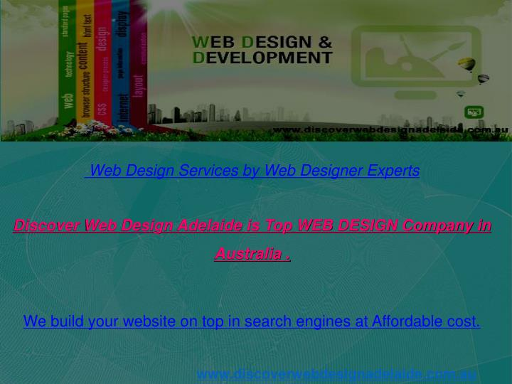 Web Design Services by Web Designer Experts