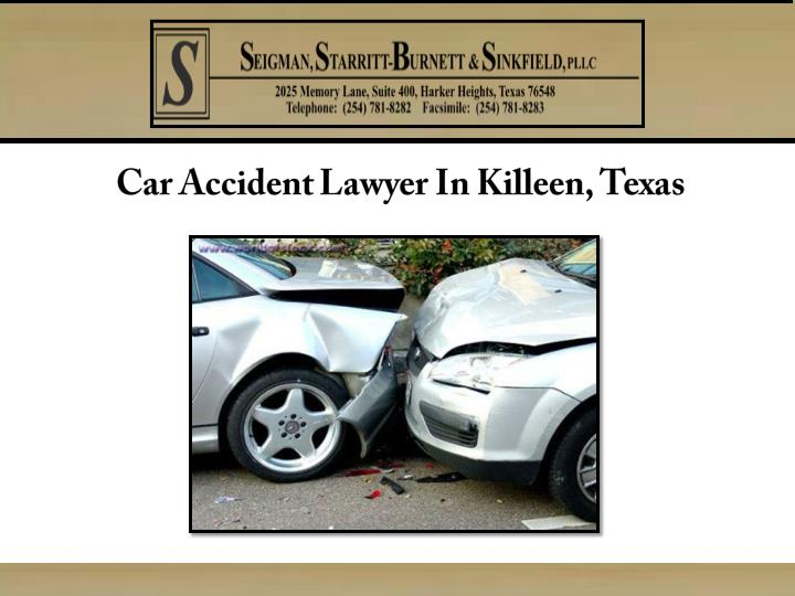 Car accident lawyer in killeen texas