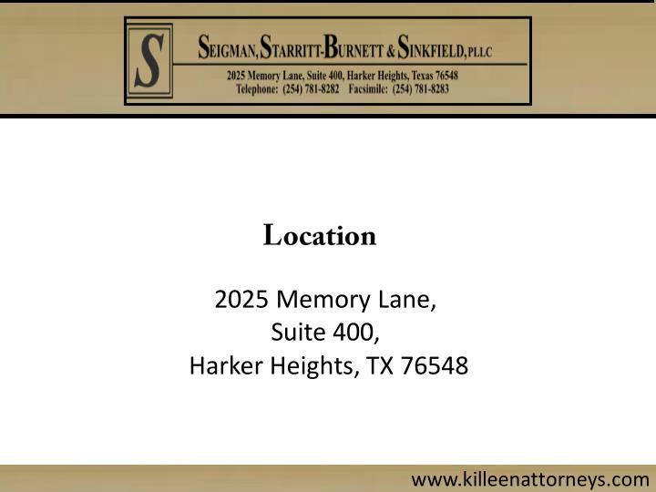 2025 Memory Lane,